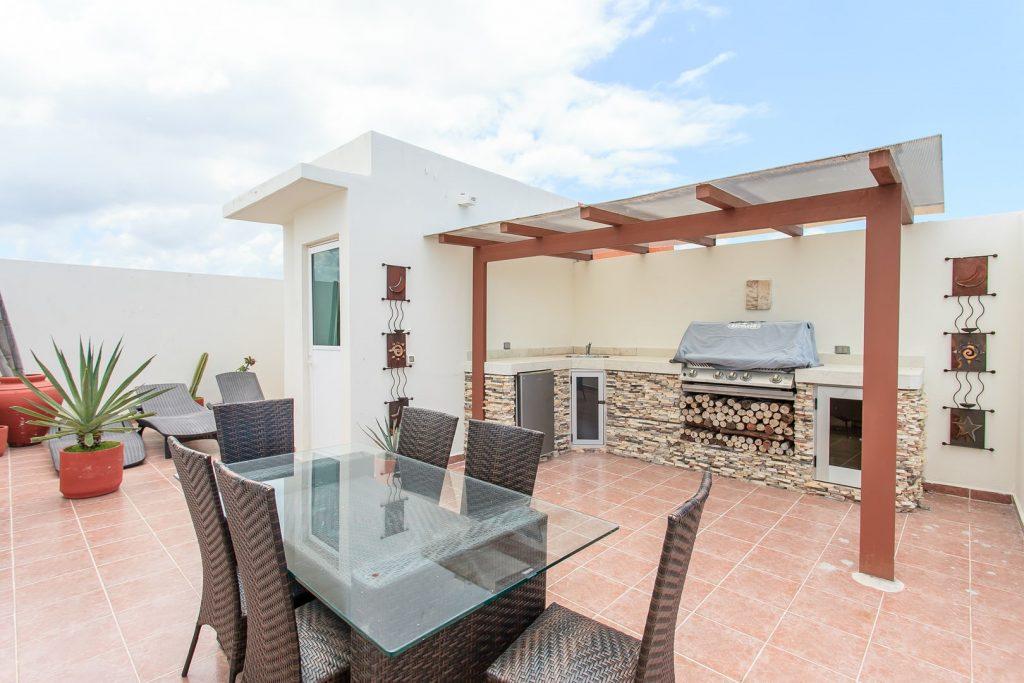 Taras apartamentu w Meksyku, Playa del Carmen